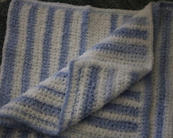Crocheted Blanket , Lap Blanket