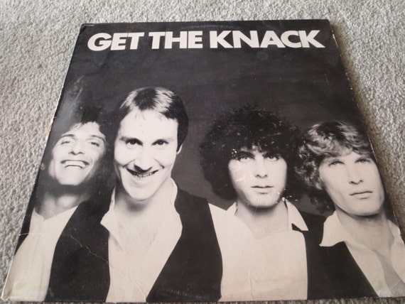 David Jones Personal Collection Record Album - The Knack - Get The Knack
