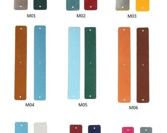 Medium 25 mm leather bracelet