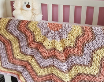 Receiving blanket crochet, crochet star blanket, crochet afghan blanket baby gift, star nursery decor, handmade unique gift idea