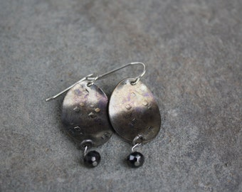 Recycled Bronze Earring