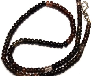 Natural Scapolite Gemstone 5MM Approx. Smooth Rondelle Beads 16.5 Inch Full Strand Super Quality Multi Color Beads Finished Necklace
