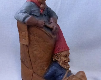 Vintage Cairn Studio Tom Clark Gnome Woodspirit Gabby and Hoppy