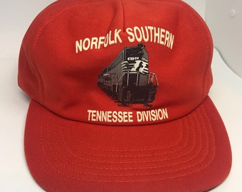 Norfolk Southern Tennessee Division 70s VIntage Railroad hat