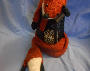 Comet the Fox - Knitted Scarf PDF PATTERN