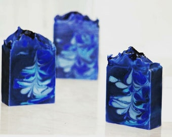 Lapis Lazuli Handmade Soap / Cold process soap/Vegan and palm oil free