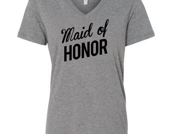 Maid of Honor Proposal, Maid of Honor Shirt, Maid of Honor Gift, Maid of Honor Ask, Getting Ready Shirt, Bridal Party Shirts, Day of Wedding