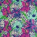 """in the garden dobby cotton fabric square 18""""x18"""" ~ lilly spring 2014 ~ lilly pulitzer"""