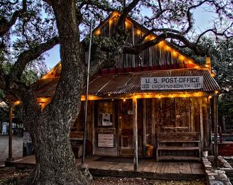 Luckenbach, Texas 8x10 photo (matted)