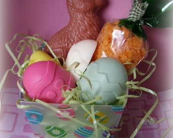 Adorable Easter tart eggs bunny and carrot