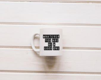 Abraham Lincoln Coffee Mug Quote