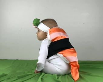 Baby/Toddler Shrimp Sushi Costume