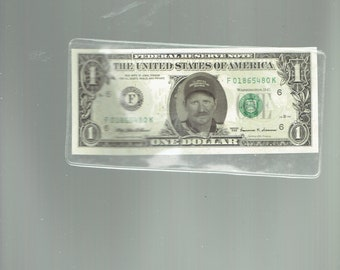 dale earnhardt one dollar bill