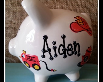 Personalized Piggy Bank | small | piggy bank| over 50 designs
