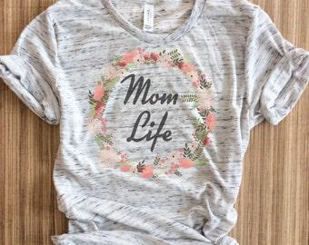 Mom life shirt, mama bear shirt, pregnancy announcement shirt, mom life, pregnant shirt, mom life is the best life,