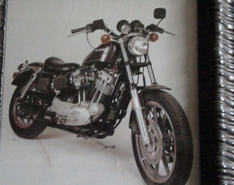 vintage harley Davidson photo
