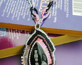 Three Teared Freeform Necklace