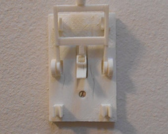 Frankenstein Knife Light Switch. 3D printed, home decor, home design. Mad Scientist.