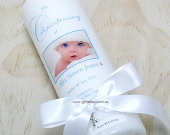 Personalised Christening / Baptism Candle - CDB03