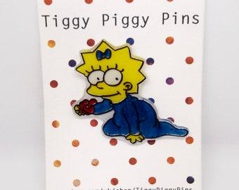 Maggie Simpson Pin