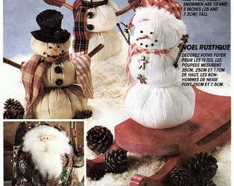 McCalls Crafts 6723 Pattern aka P440/849 A Country Christmas Supply
