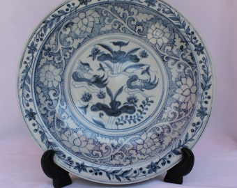 Chinese Antique porcelain HQ Charger Plate Ming Dynasty China Chenghua Period