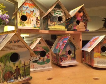 Golden Book Birdhouses