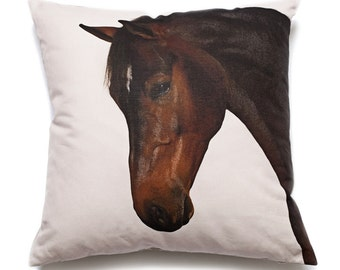 Fine Art Cushion Horse