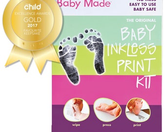 Baby Inkless Print Hand and Footprint Kit