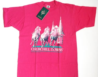 Vintage Derby Shirt - Pink - NOS