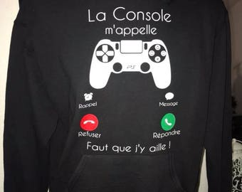 """Hoody """"console call me"""""""