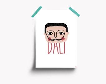 Salvatore Dali illustration