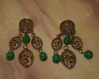 Vintage Guy LAROCHE earrings