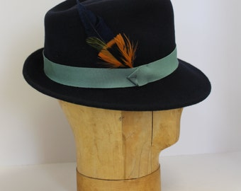 Trilby Hat Winter