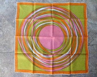 Vintage Italian Made Mod Scarf #2 made in Italy