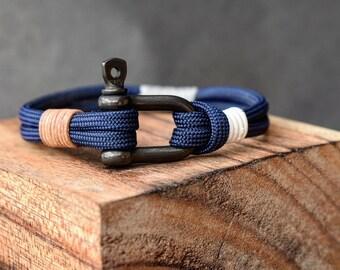 Manila rope and original Paracord Bracelet