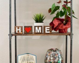 Wood Home Decorative Blocks