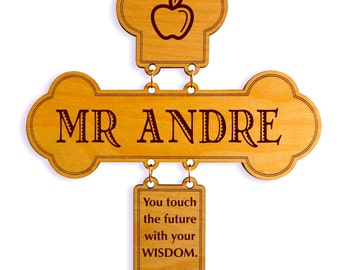 Christian Gift for Teacher - Gifts for Teacher Appreciation - Teacher Thank You Cross from Student - Teacher Day Gift