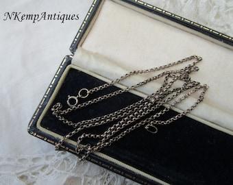 Antique chain necklace