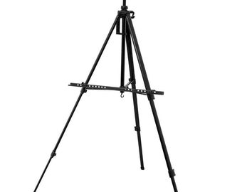 Deluxe Artist 156cm Adjustable Tripod Easel Various Colours To Choose From