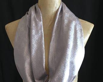 Infinity Scarves - Scarves - Accessories - Silver Scarf - Scarf - Loop Scarves -  Scarf - Metallic