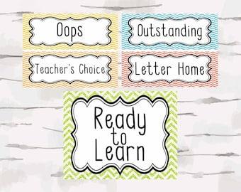 Customize Classroom Management Classroom Decor, Teacher Decor, Classroom behavior