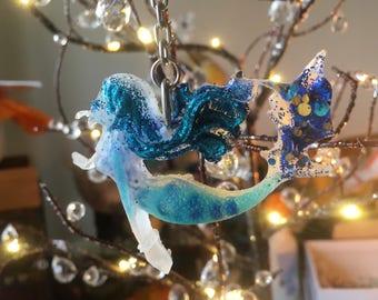 Mermaid keyring