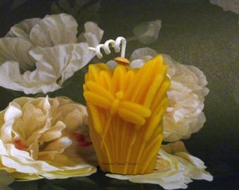 Beeswax Candle - Dragonfly