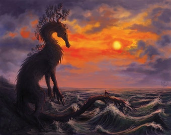 Rooted in the Sea (art print)