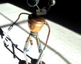 Robot Sculpture- Tea Bot