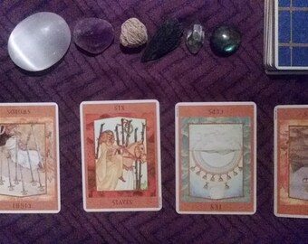 4 Card Divine Tarot Reading
