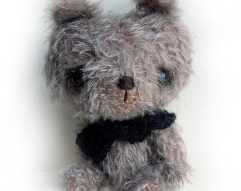 CTB is Chocolate Teddy Bear - OOAK anime bear epattern by Jenny Lee of jennylovesbenny bears PDF