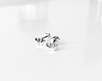 Earrings Gold | Princess