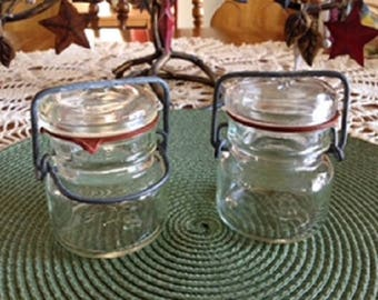 Small Wire Close Canning Jars